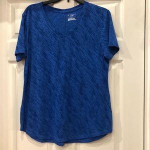Tek Drytek Tee shirt Blue size L
